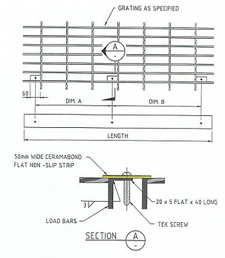 Metal Strips Assembly Using Tek Screw Fixing