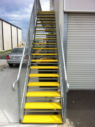 Industrial Stair Safety