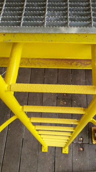 Anti Slip Ladder Rung Capping Ceramabond Pty Ltd Anti