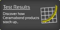 Ceramabond Test Results